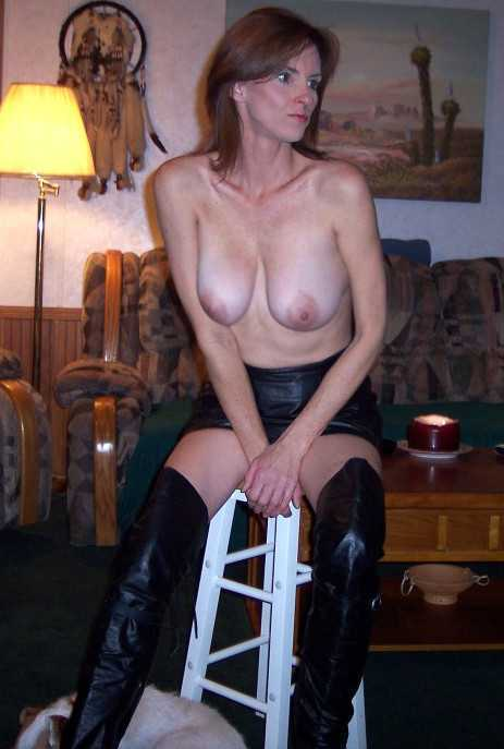 Mom in Leather