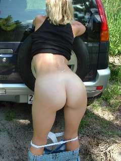 round milf ass