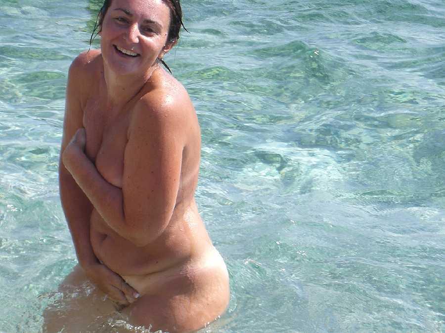 MILF Skinny Dipping
